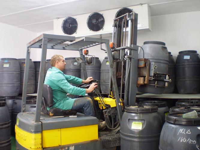 Llegado el momento, nuestros productos son trasladados a la planta de envasado