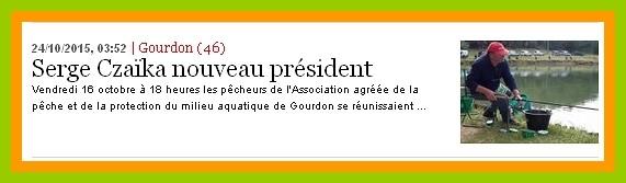 La Dépêche du Midi du 24/10/2015.