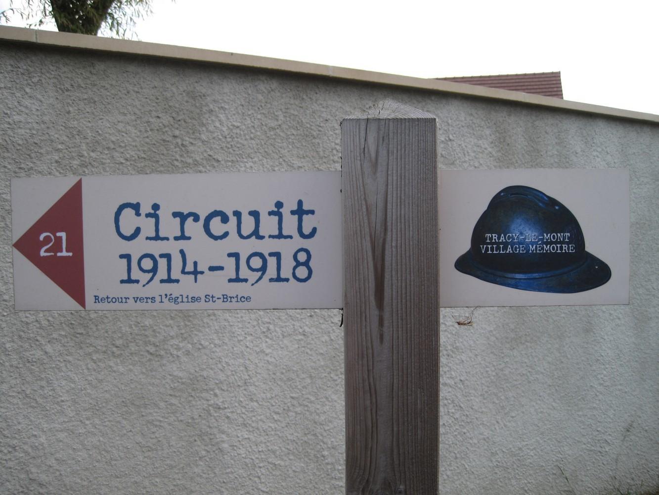 CIRCUIT AU DEPART DE COMPIEGNE