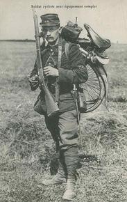 Soldat cycliste