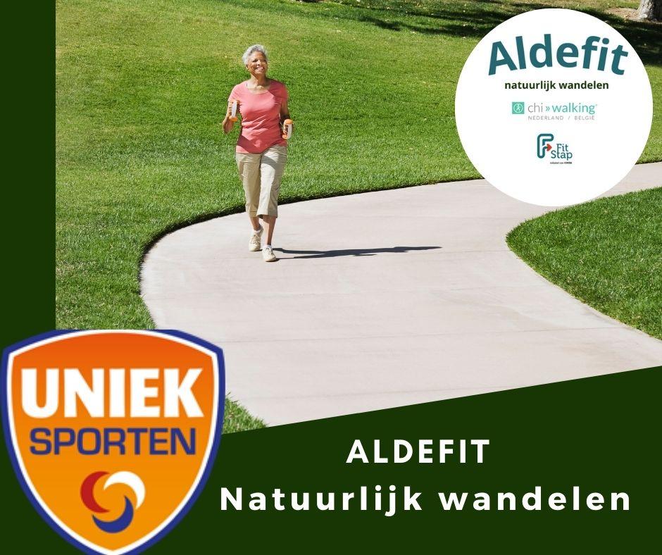 Aldefit werkt samen met Uniek Sporten