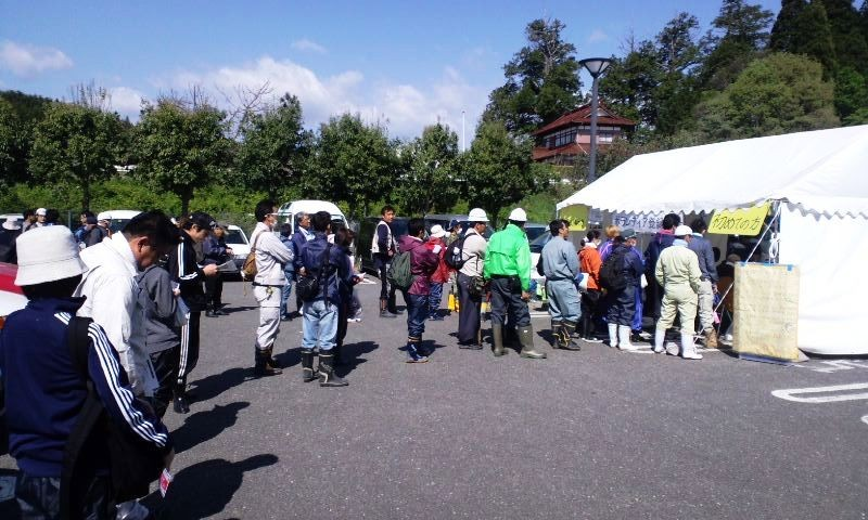 二日目:気仙沼市災害ボランティアセンター