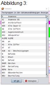 abasoft EDV Programme GmbH EVA Praxissoftware Tipp der Woche Datumsunabhängige Zeile Fallakte Wichtige Informationen