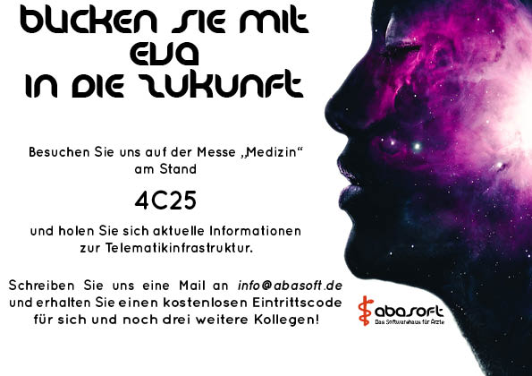 abasoft EVA Praxissoftware Arztsoftware Messe Medizin Stuttgart