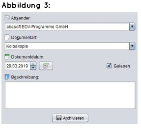 Arztsoftware Praxissoftware Arztprogramm Praxisprogramm Archiv Praxisverwaltungssoftware Dokumente