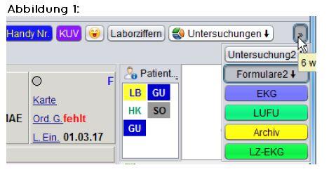 abasoft EVA Praxissoftware Arztsoftware Button