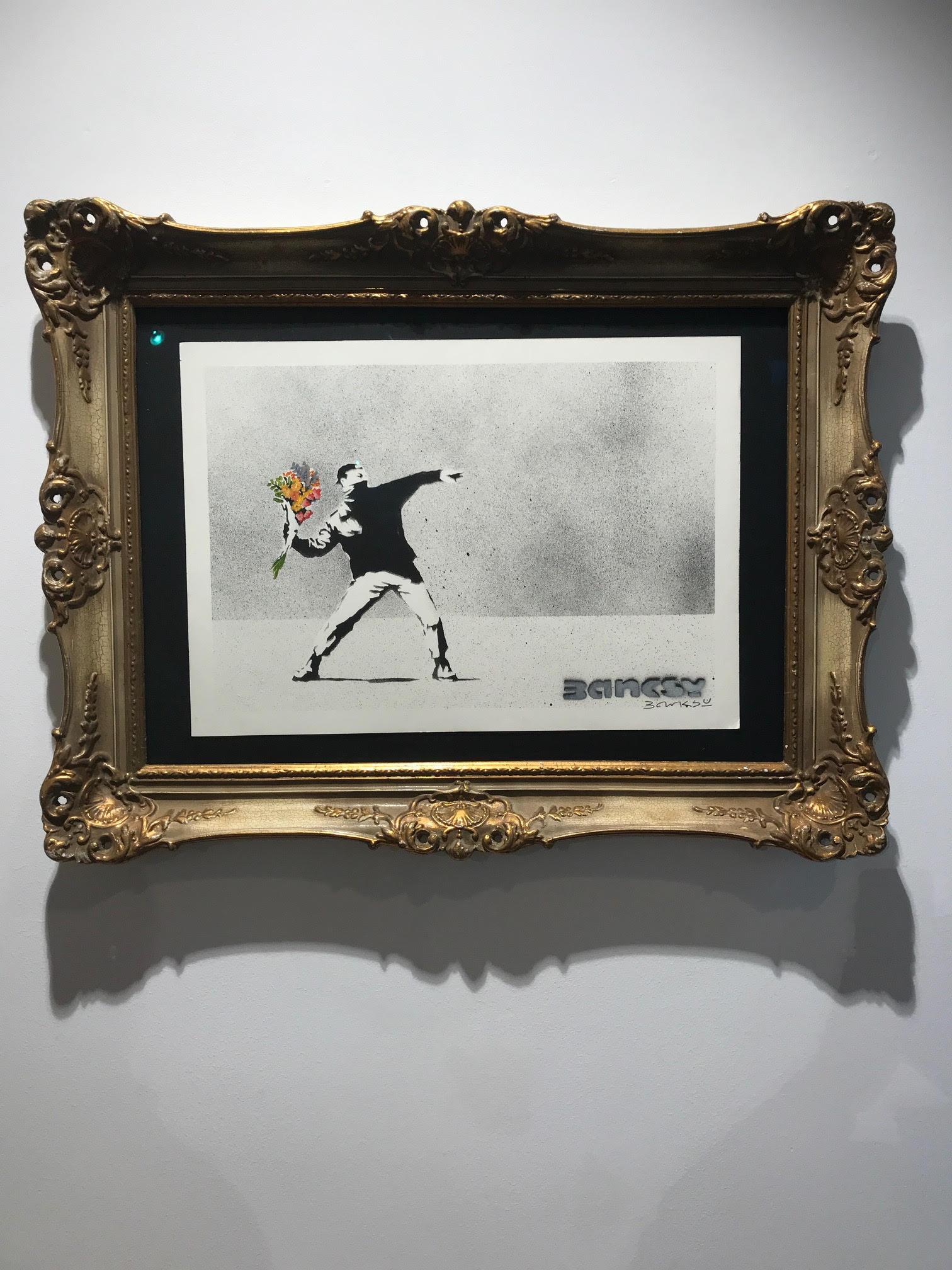 Installationsansicht: Banksy. Foto: (C) und Courtesy Gerhard Charles Rump.