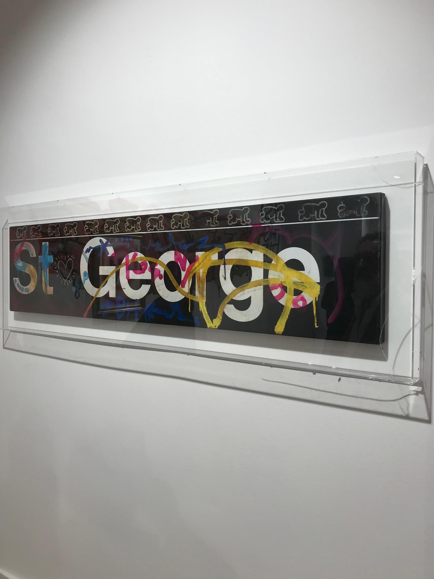 Installationsansicht Keith Haring. Foto: (C) und Courtesy Gerhard Charles Rump.