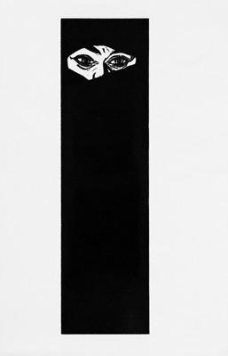 Martina Lückener  Verhuellung  51 x 18cm  2001