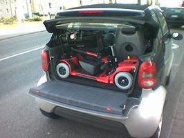 Elektromobil Mobilis M34+ faltbar