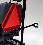 Rückansicht des Elektromobils Mobilis M65 für Senioren und Behinderte