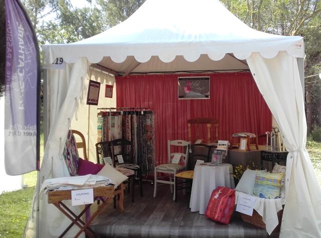 stand atelier du siège à PromAude 2018 Lézignan Corbières