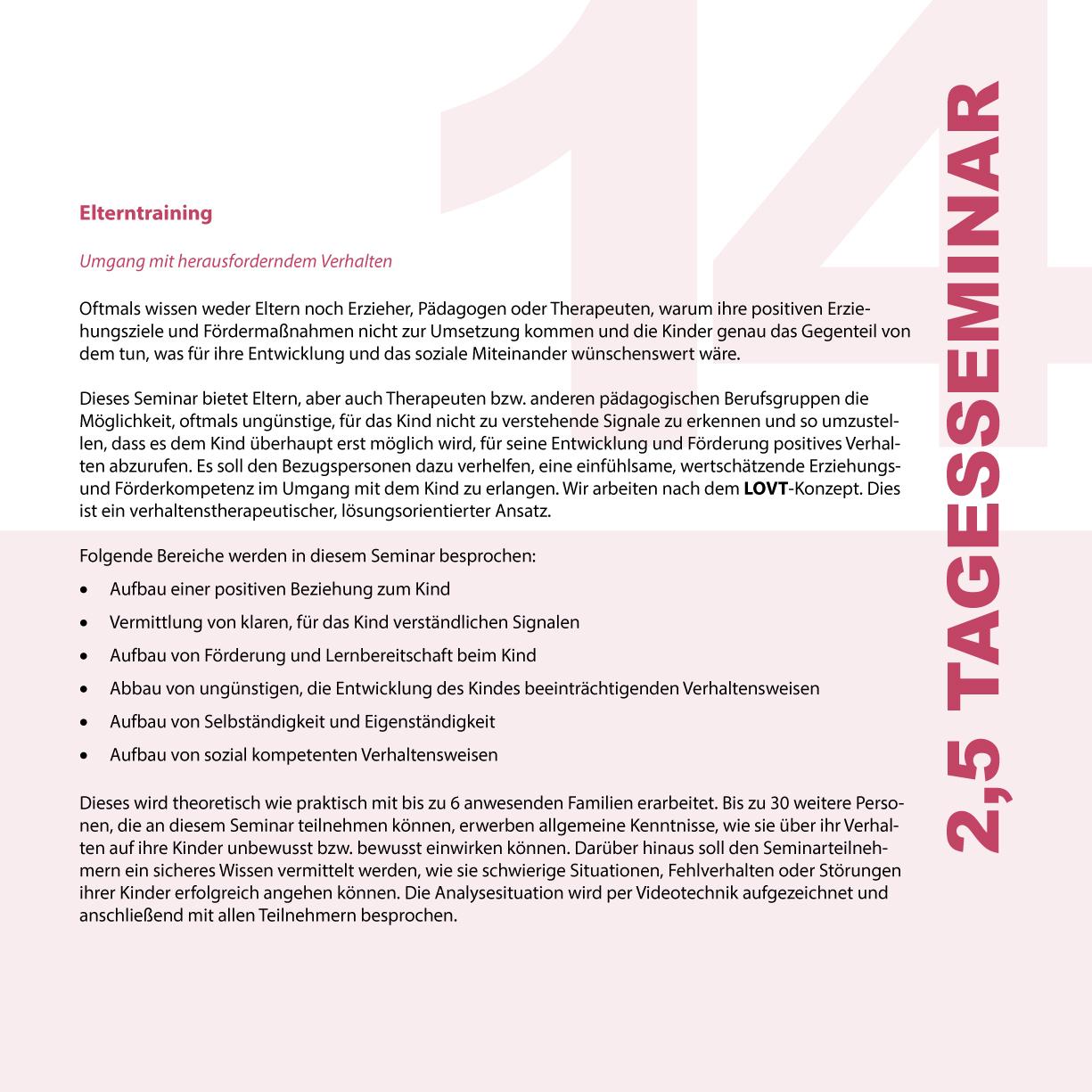 Seminar 14