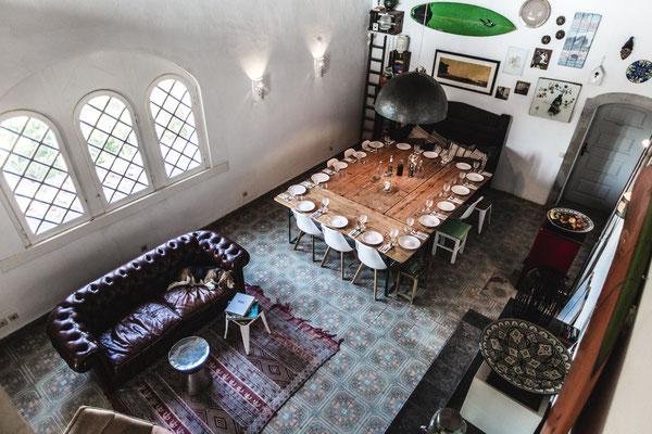 Buddha Retreats Portugal, Wohnzimmer