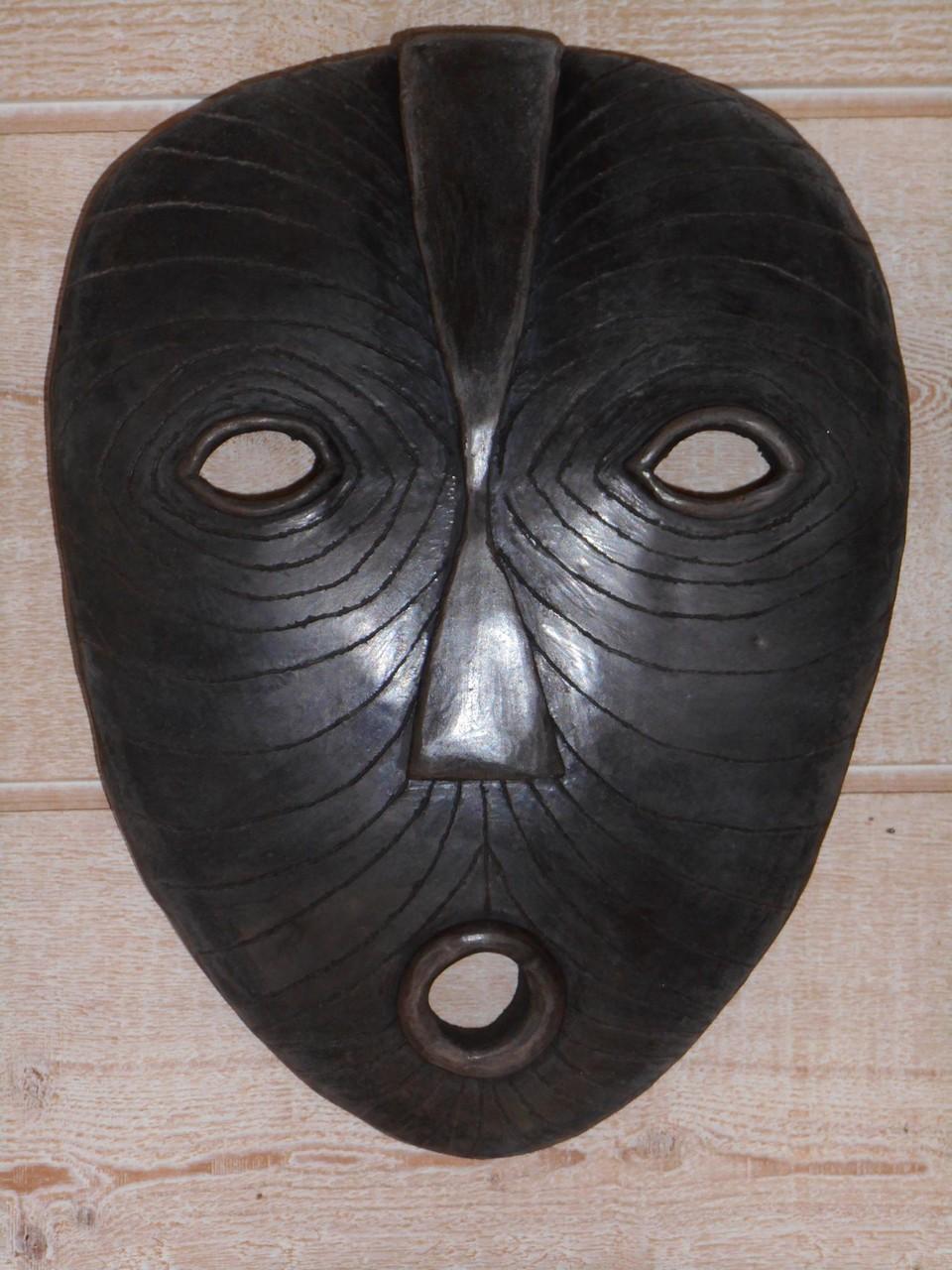 masque poli enfumé