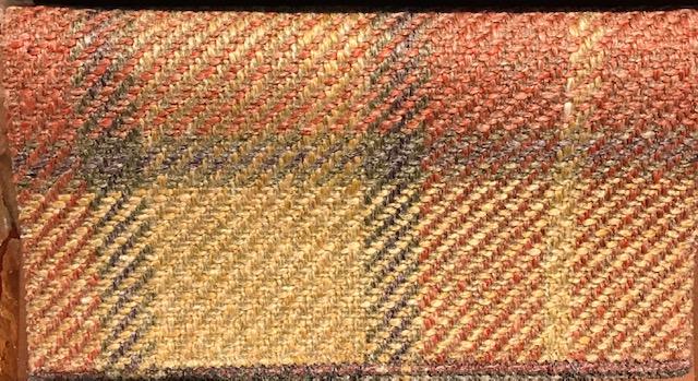 tessuto tartan in lino pesante per poltrone e divani