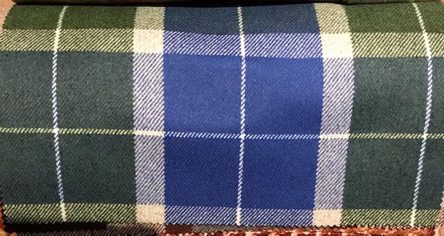 tessuti tartan in lana per montagna
