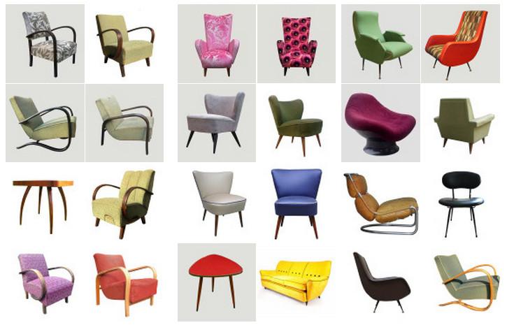 Poltrone vintage atelier tessuti arredamento tende tendaggi interni - Poltrone vintage design ...