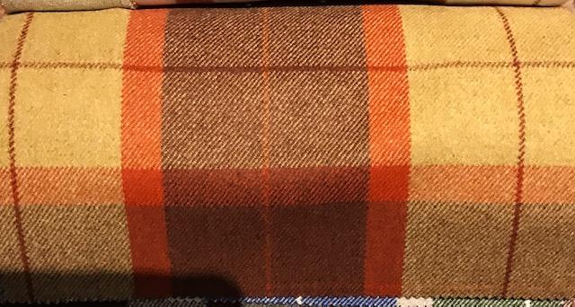 tessuti tartan in lana