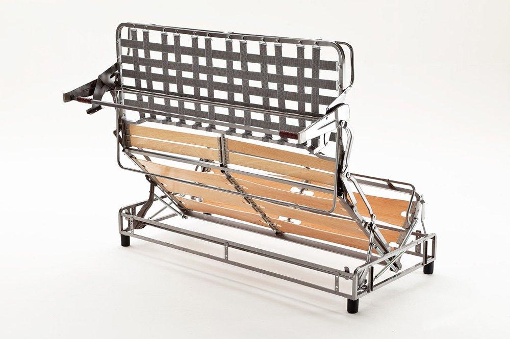 meccanismo con doghe divano letto