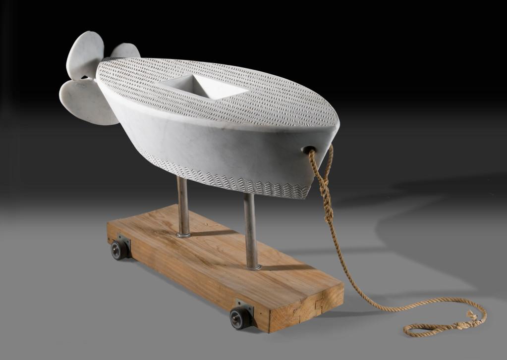 barca con elica