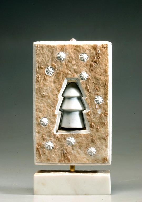 piccola scultura natalizia