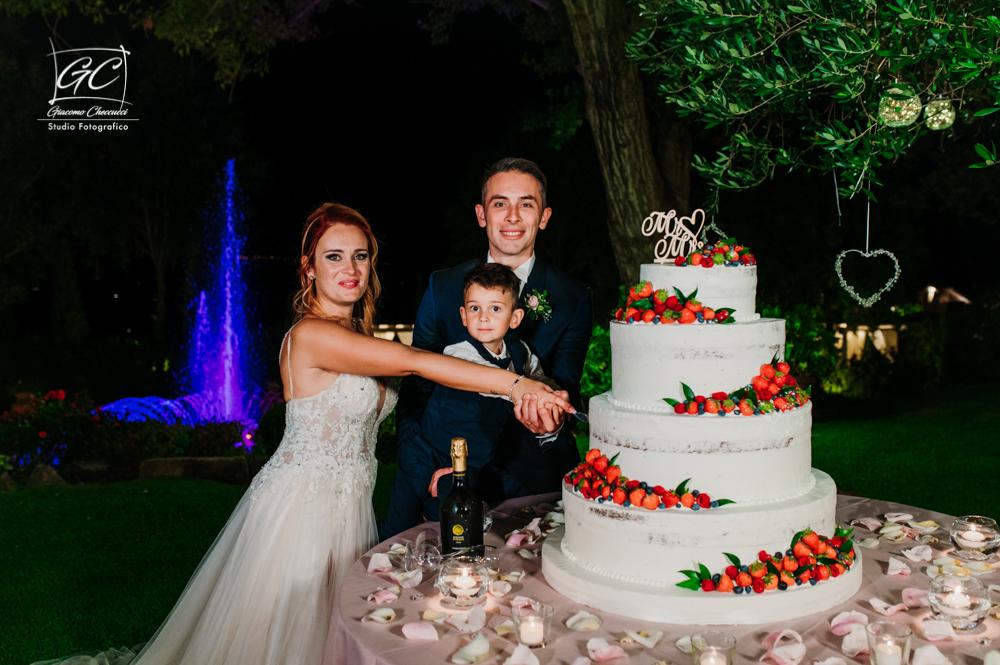 Stefania e Marco Foto Matrimonio @ Tenuta il Quadrifoglio