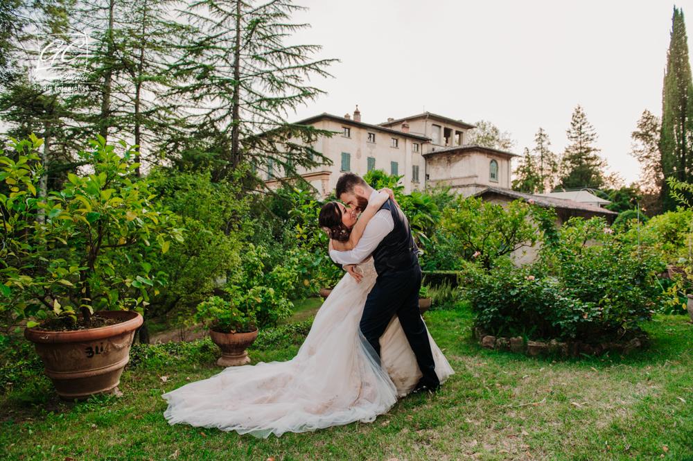 Mariangela e Alessio Foto Matrimonio @ Villa di Striano