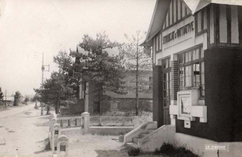 carte postale de 1951