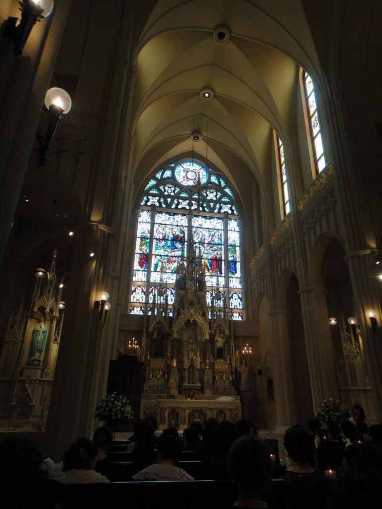 ゴージャスな教会