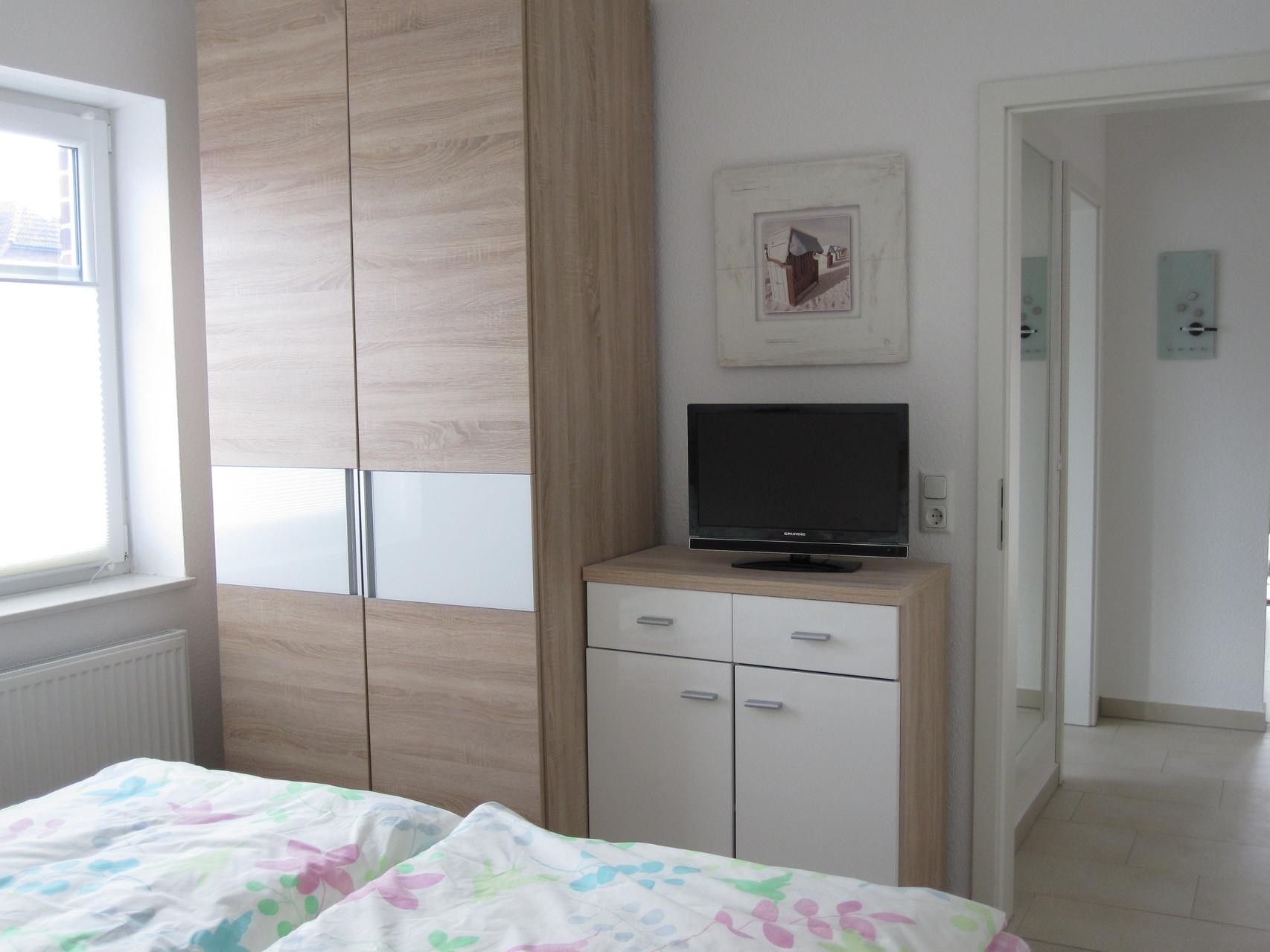 Sat-TV im Schlafzimmer