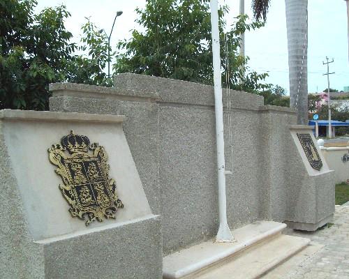 escudo de Campeche en bronce