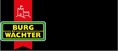 Burg-Wächter: Immer auf der sicheren Seite (Burg-Wächter Logo)