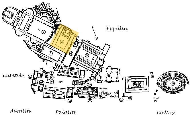 Rome - Forum d'Auguste - Italie