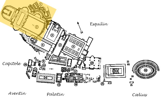 Rome - Forum et marchés de Trajan - Ialie