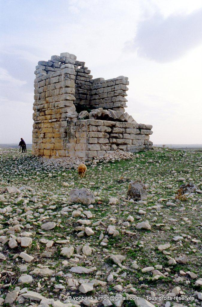 [003-1983-37] Ksar Mdoudja (Civitas A ........) : Mausolée romain