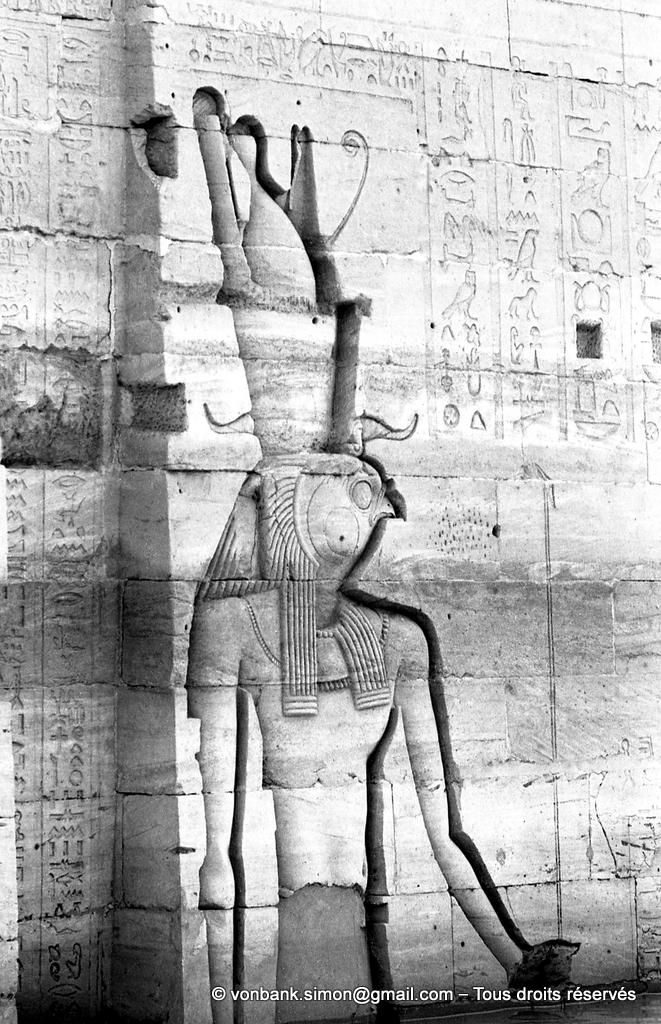[NB076-1973-13] Philae : Temple d'Isis - Horus (Pylône 2)