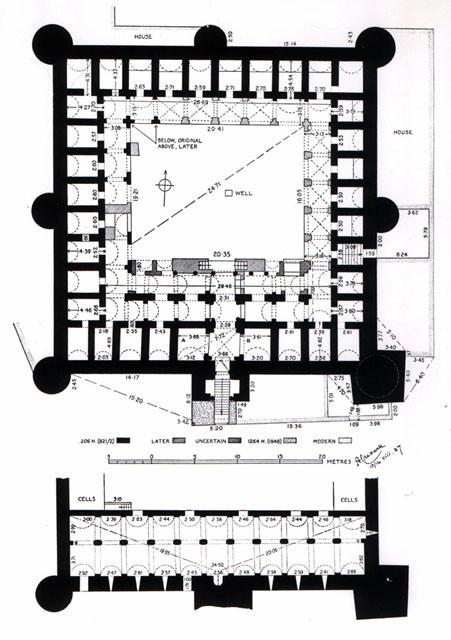 Sousse (Hadrumetum) : Plan du Ribat