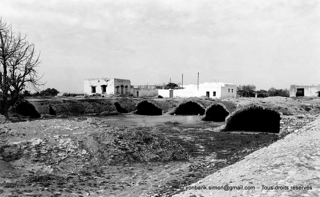 [NB016-1981-10] Carthage (Carthago) : Citernes de La Malga