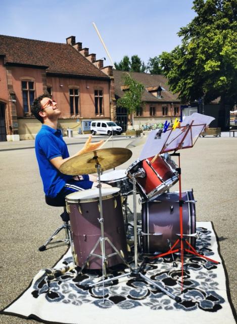 Juni 2021 Kaserne Basel - Das Schlagzeug auf Reisen, Event der Drumschool Basel