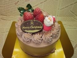 生チョコクリーム苺 4号サイズ ¥2400