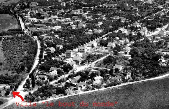 carte début des années 1960 - archives M Delabruyère