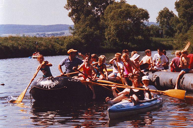 Lahn Tour 1989.