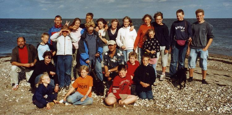 Sommerfreizeit 2005 auf der Ostsee Insel Rügen.