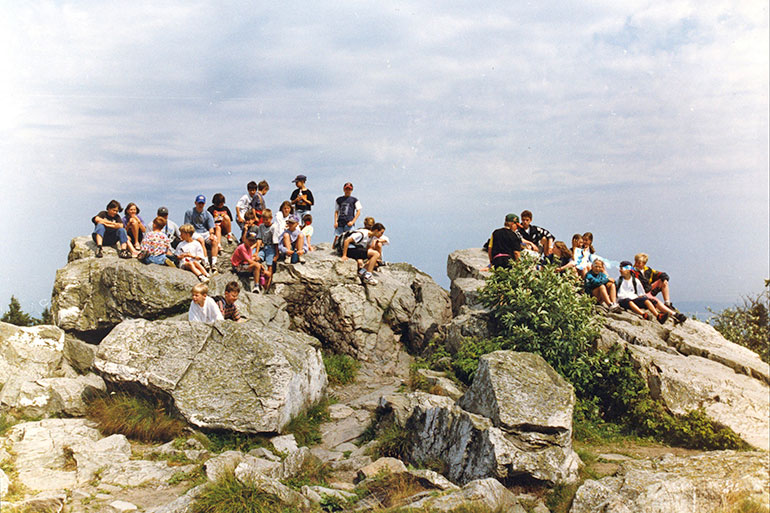 Feldberg Exkursion 1996.