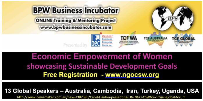Business Incubator - BPW Australia