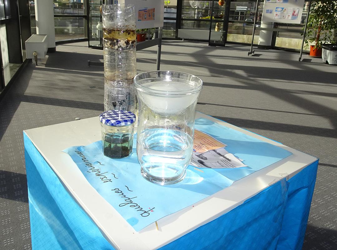 Fabrication des nuages et filtration de l'eau