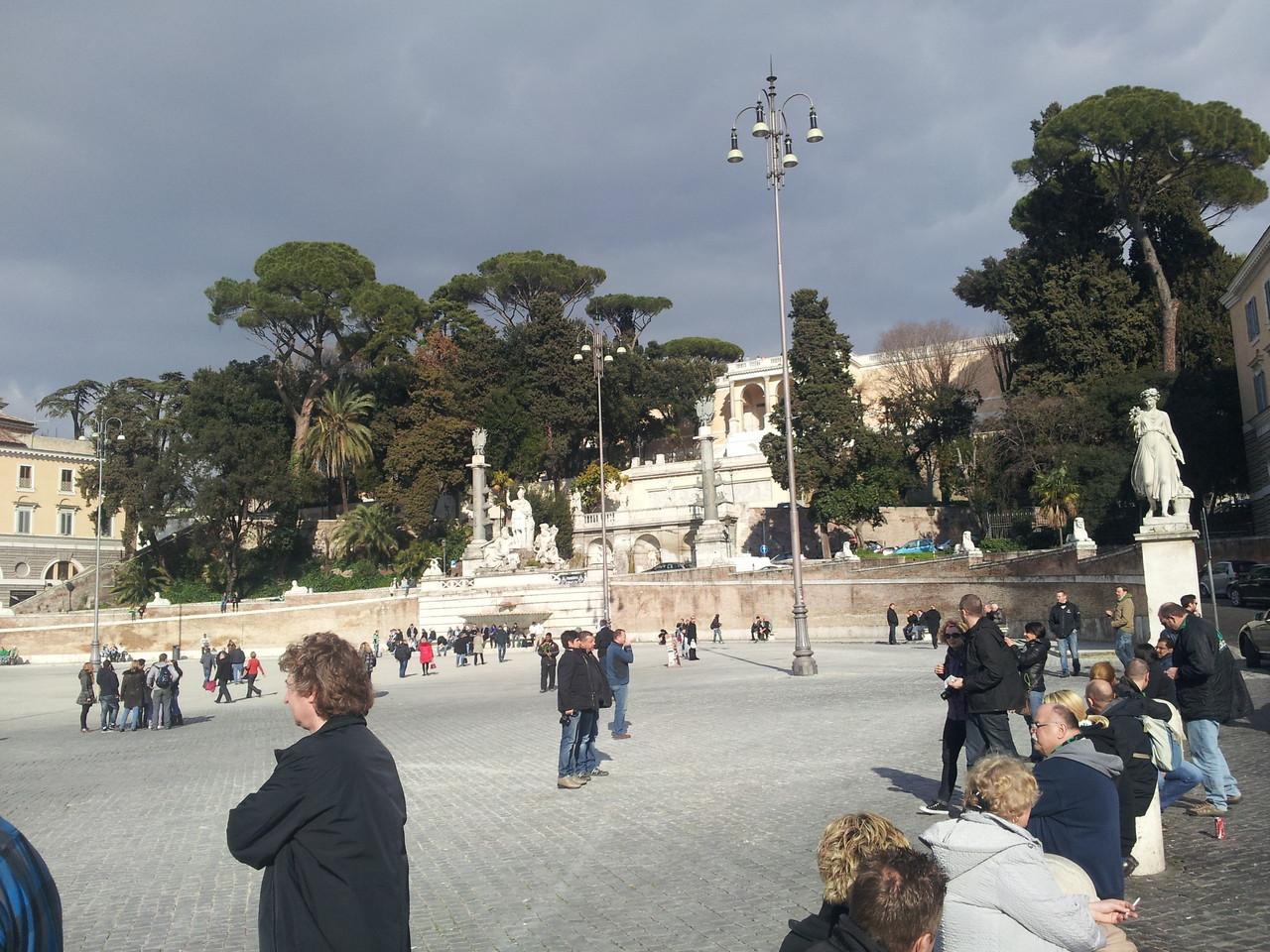 Piazza del Popolo (15:30 Uhr)