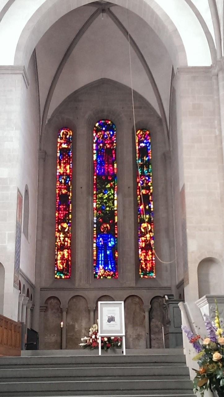 Fenster von Marc Chagall (falsch gedacht...)