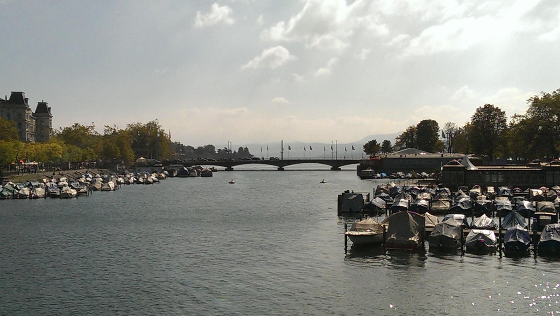 Blick von der Münsterbrücke